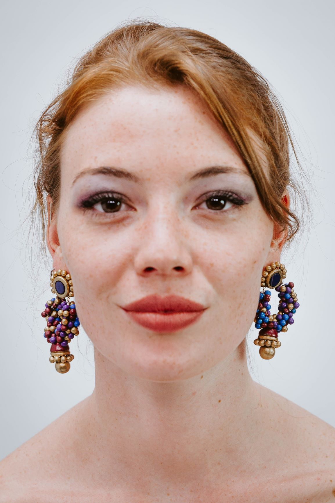 Grappe Raisin Multicolore - Boucles d'oreilles - Azaadi, la mode responsable accessible