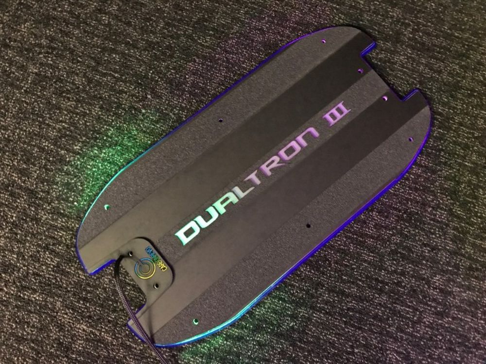 CarbonRevo 3D LED Deck Cover for Dualtron 6