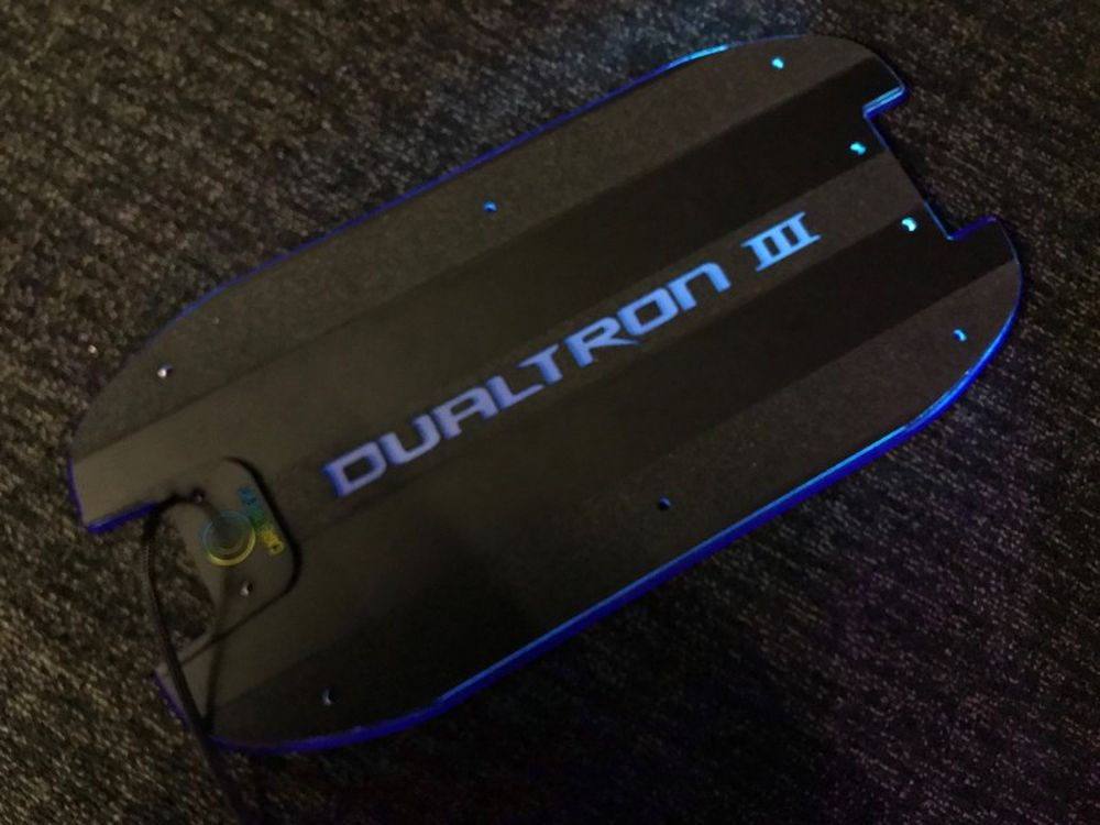 CarbonRevo 3D LED Deck Cover for Dualtron 3