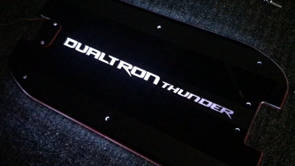 CarbonRevo 3D LED Deck Cover for Dualtron 5