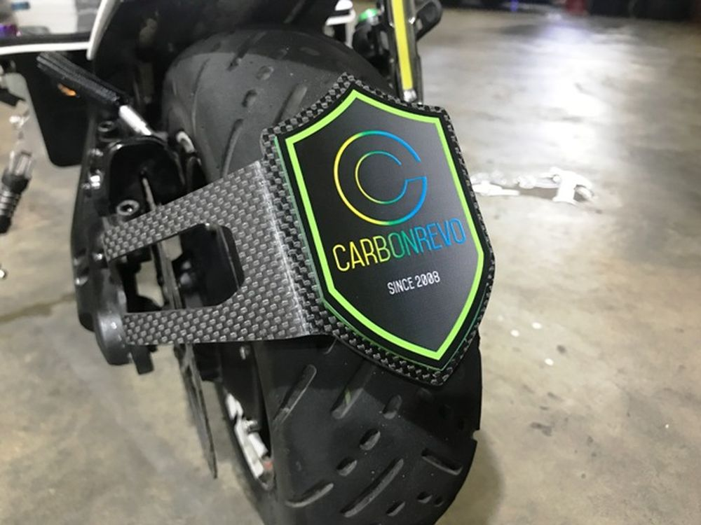 CarbonRevo Wheel Hugger for Dualtron 2