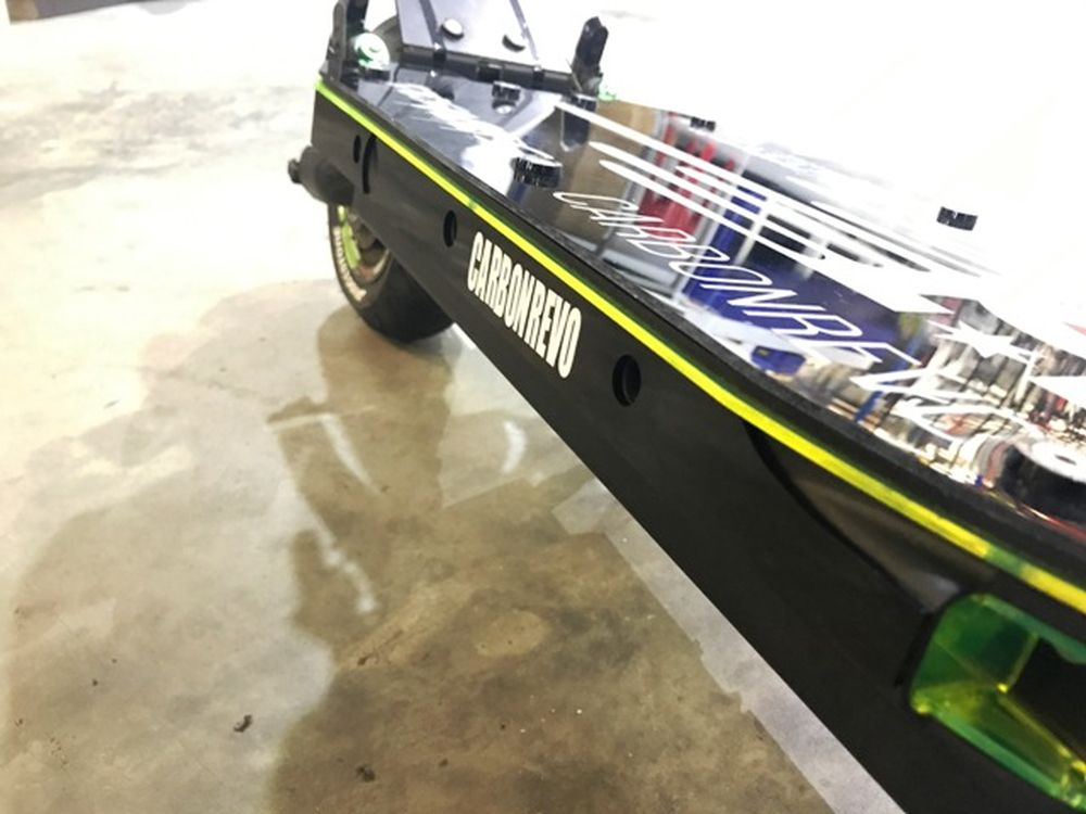 Carbonrevo Deck Liner for Dualtron 12