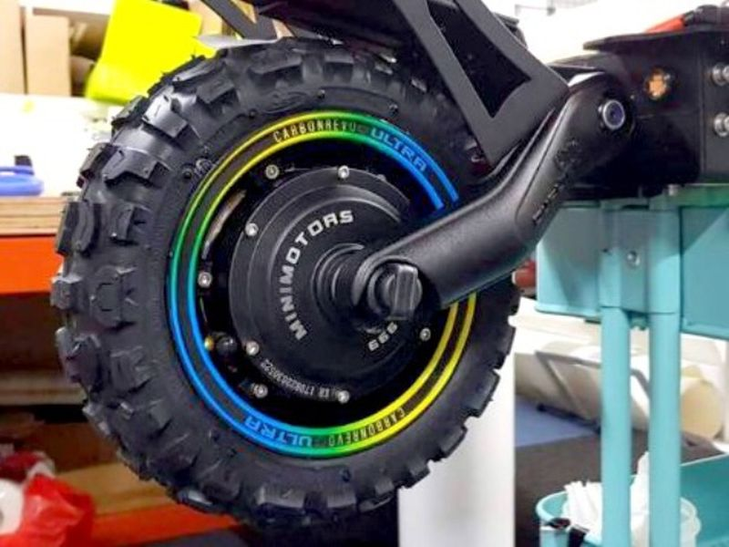 Carbonrevo Rim Stickers Dualtron 6