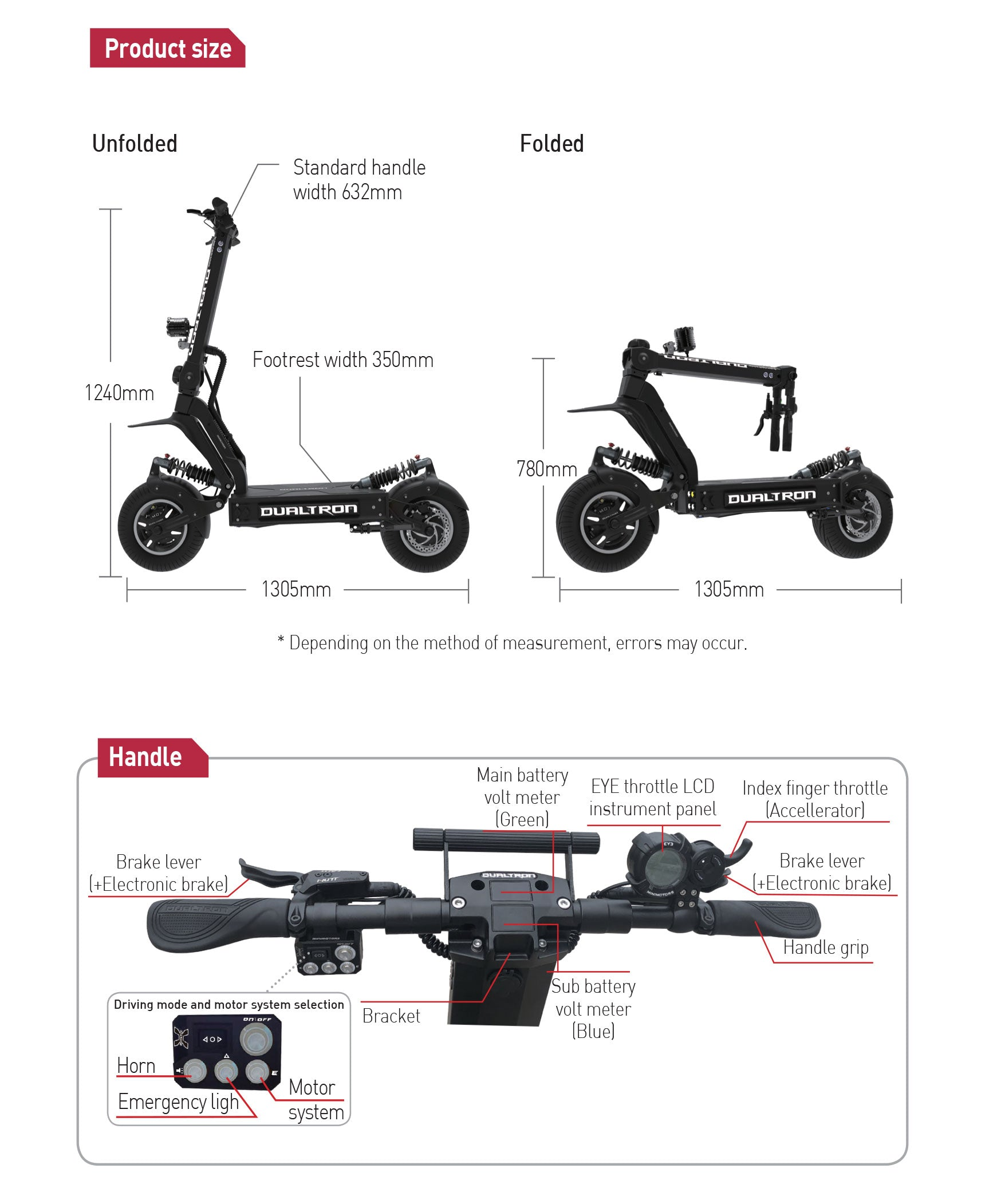 Dualtron X II Functions and Features