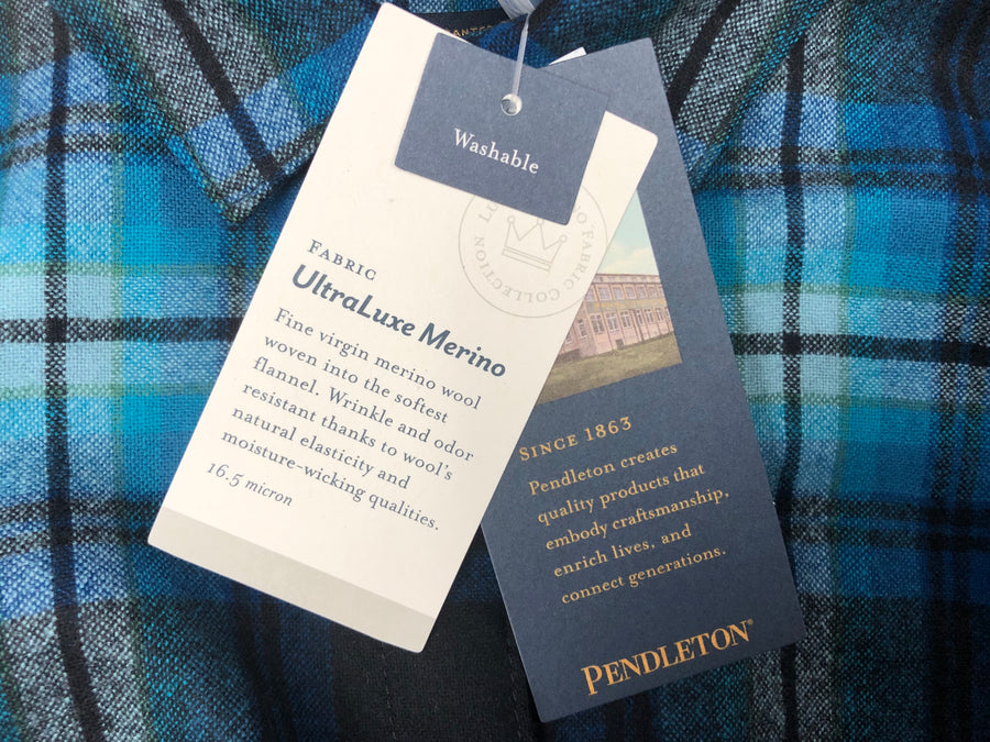 PENDLETON ULTRALUXE MERINO PIPER SHIRT