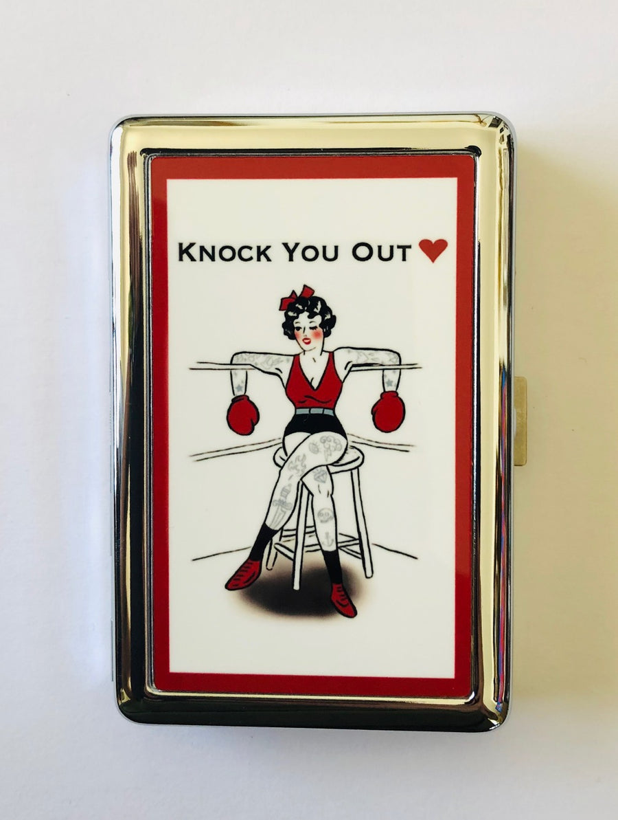 KNOCK YOU OUT CARD CASE