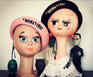 THE MONSTERS BERET *BLACK