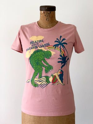 CREATURE FROM THE PARADISE LAGOON TEE *SAND PINK
