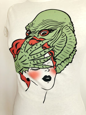 LAGOON MONSTER TEE *IVORY