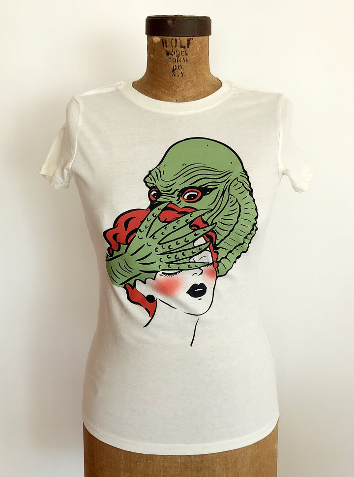 RAGOON MONSTER TEE *IVORY