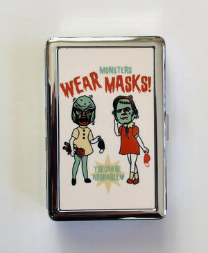 WEAR MONSTERS MASKS CARD CASE