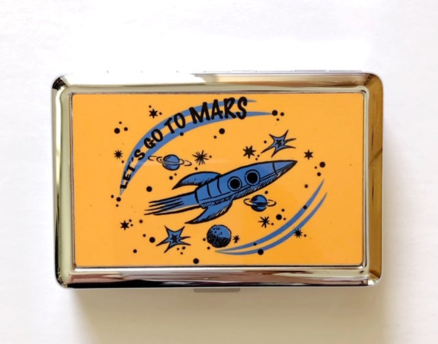 LET'S GO TO MARS CARD CASE