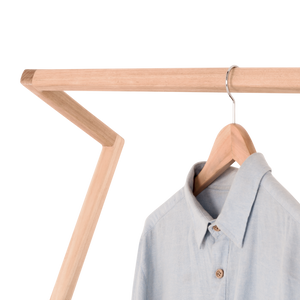 Rose Leaning Clothes Rack