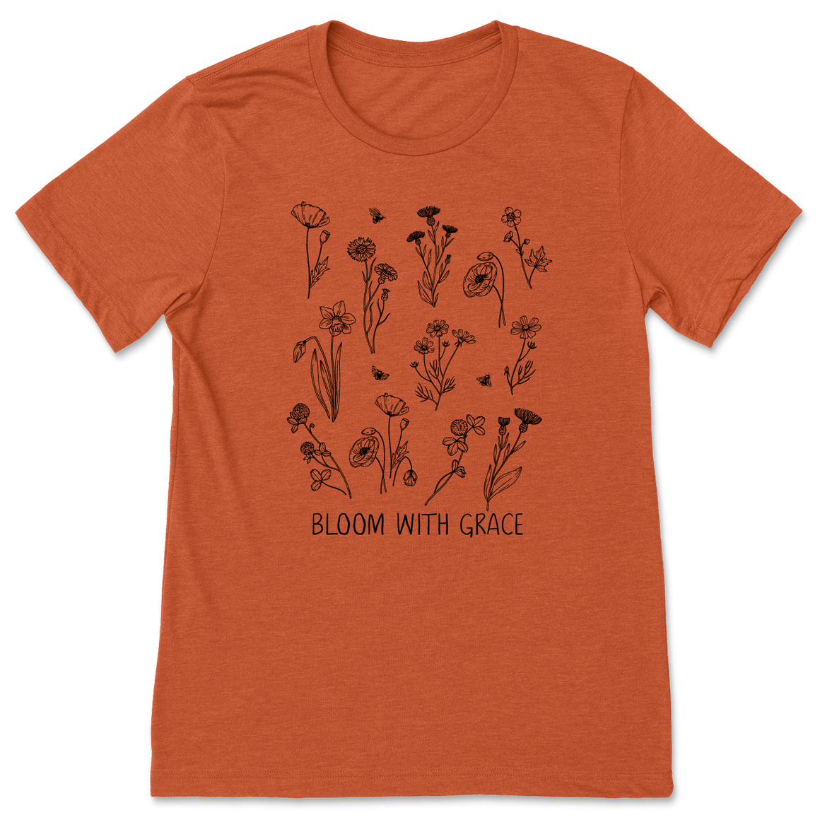 Bloom With Grace - Heather Autumn - Unisex