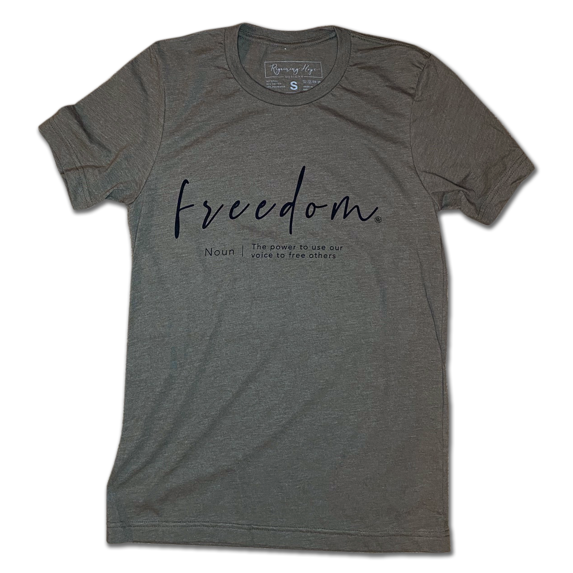 Freedom - Heather Olive - Unisex