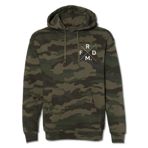 Freedom - Forest Camo - Unisex Hoodie