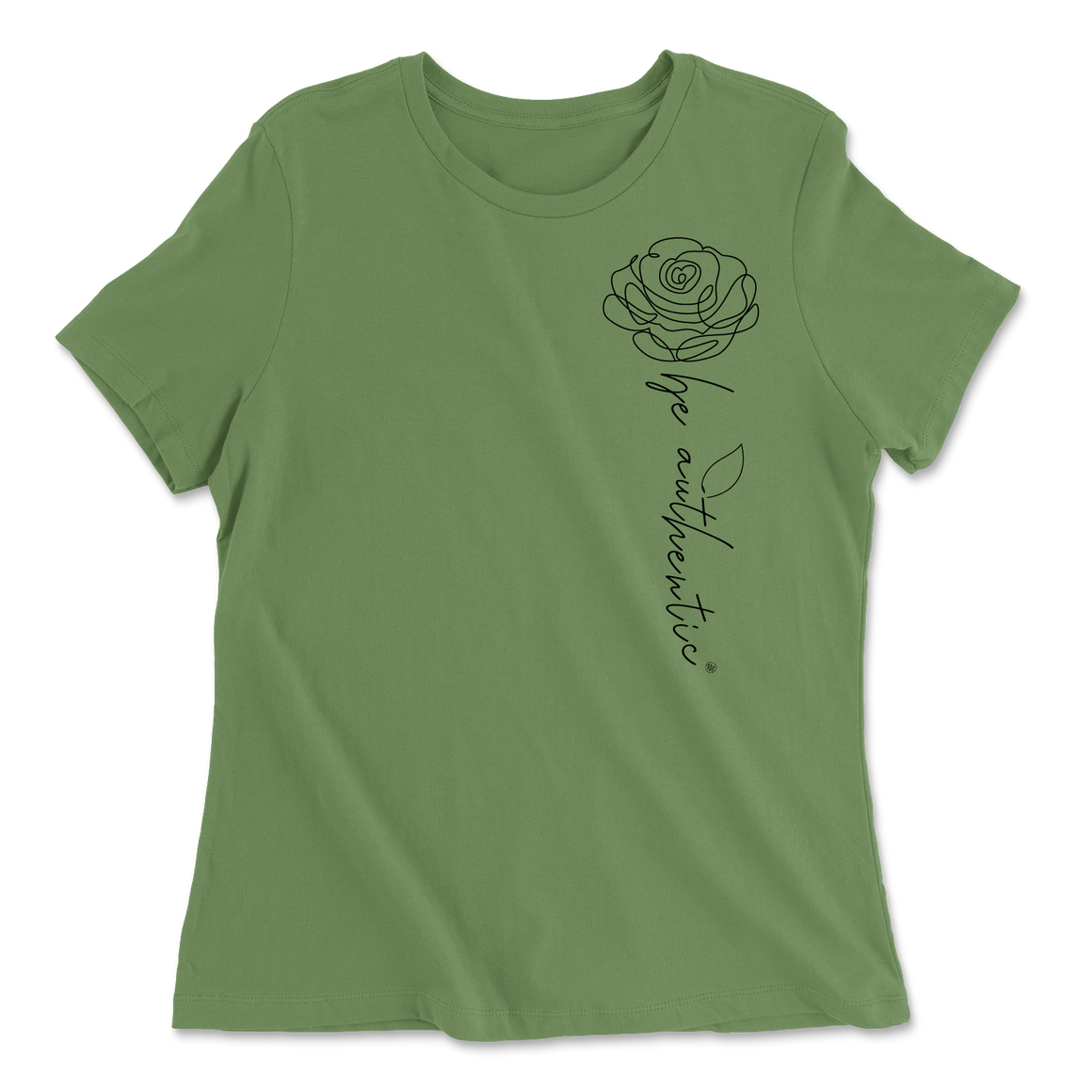 Be Authentic - Green - Women's Tee