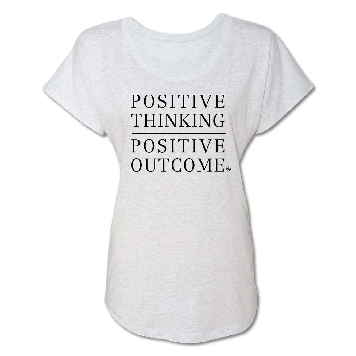 Positive Thinking - Heather White - Women's Tee