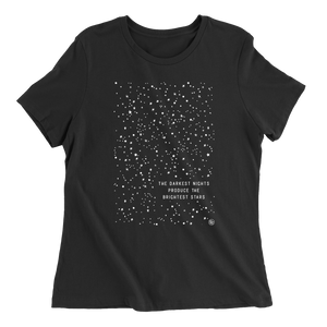 The Darkest Night - Black - Women's Tee