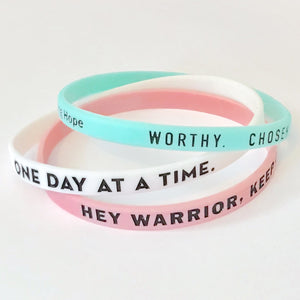 Thin Wristbands