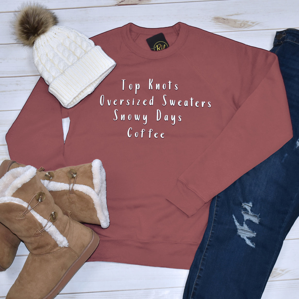 Fun Winter Sweatshirt