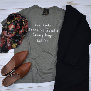 Fun Winter Ladies T-Shirt