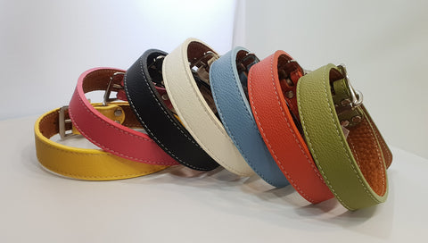 Italian Leather Collar