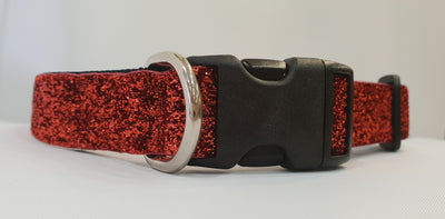 Glam Ruby Fabric Collar