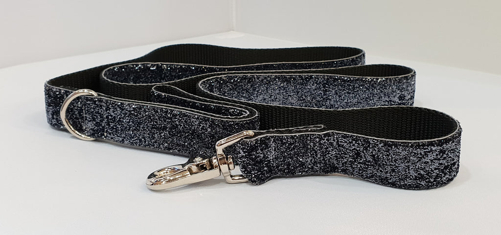 Glam Smoke Fabric Leash