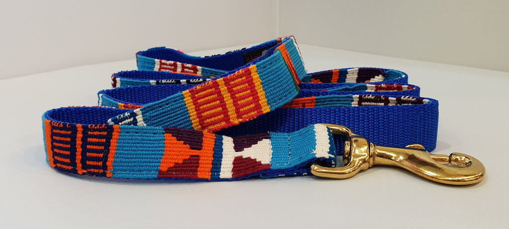 Guatamala Fabric Leash