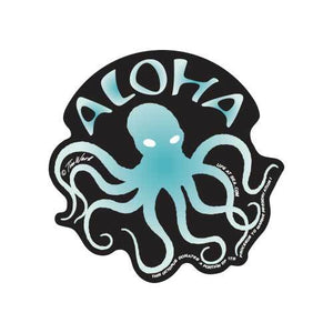 Aloha Octopus Sticker