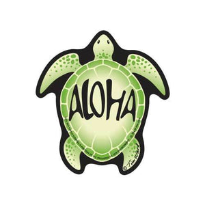 Aloha Sea Turtle Sticker