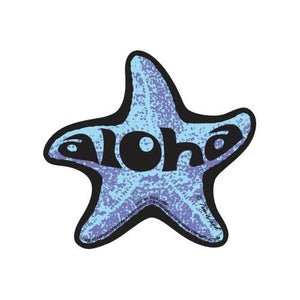 Aloha Starfish Sticker