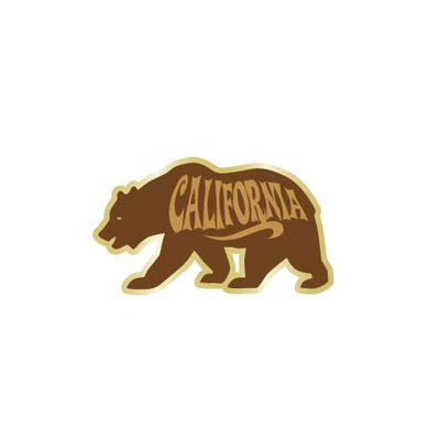 California Bear Collector Pin