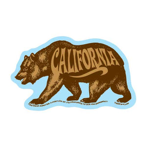 California Bear Magnet