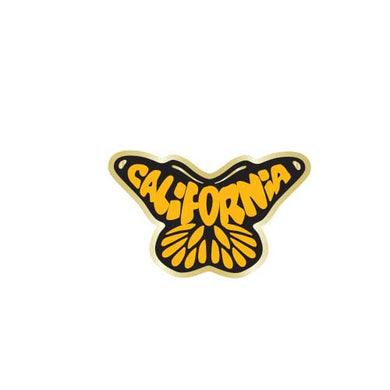 California Butterfly Monarch Collector Pin