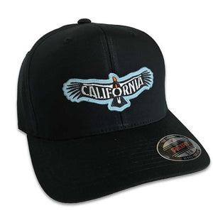 California Condor Hat (Black Flexfit)