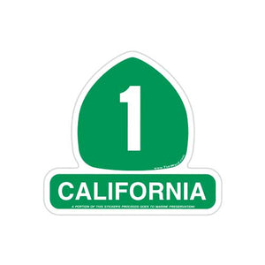 California Highway 1 Magnet