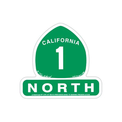 California Highway 1 North Magnet