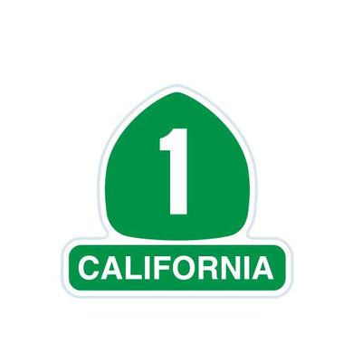 California Highway 1 Patch