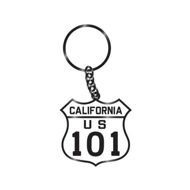 California Highway US 101 Keychain