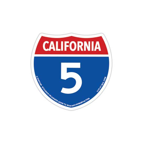 California Highway 5 Magnet