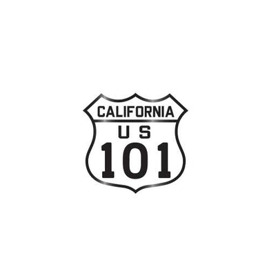 California Highway US 101 Collector Pin