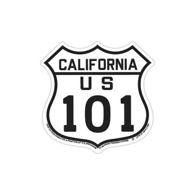 California Highway US 101 Magnet