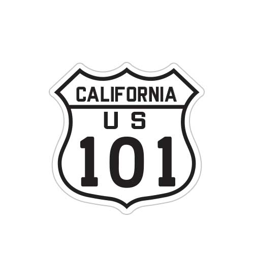 California Highway US 101 Patch
