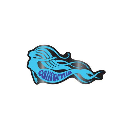California Mermaid Collector Pin