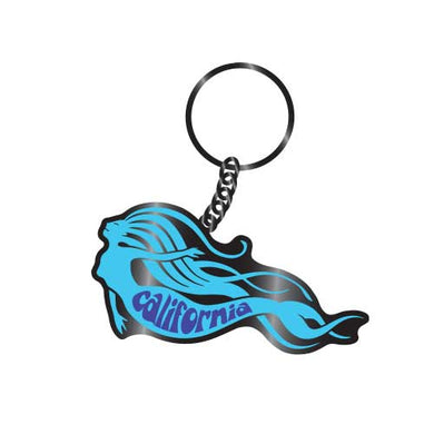 California Mermaid Keychain