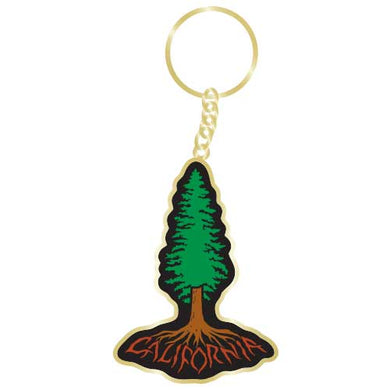 California Redwood Roots Keychain