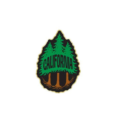 California Redwood 3 Trees Pin