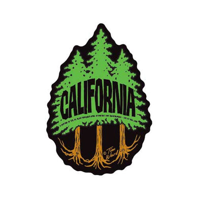California Redwood 3 Trees Magnet